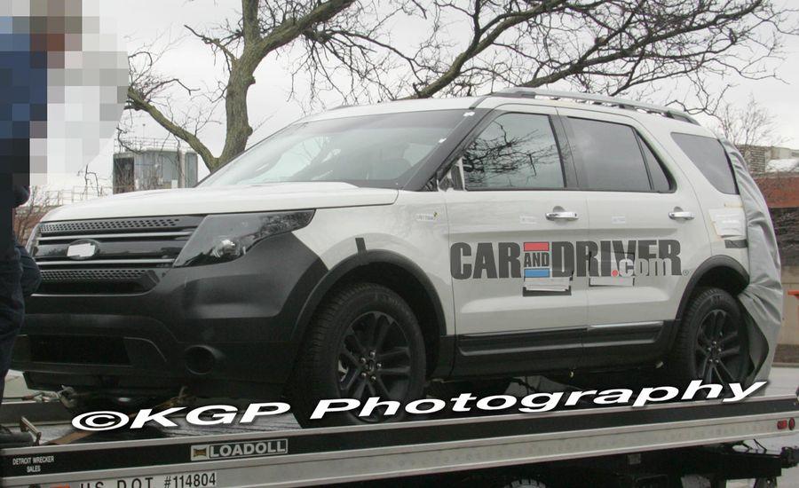 2011 Ford Explorer Caught Undisguised!