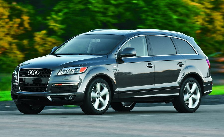 2009 audi q7 3 0 tdi quattro diesel s line review car and driver. Black Bedroom Furniture Sets. Home Design Ideas