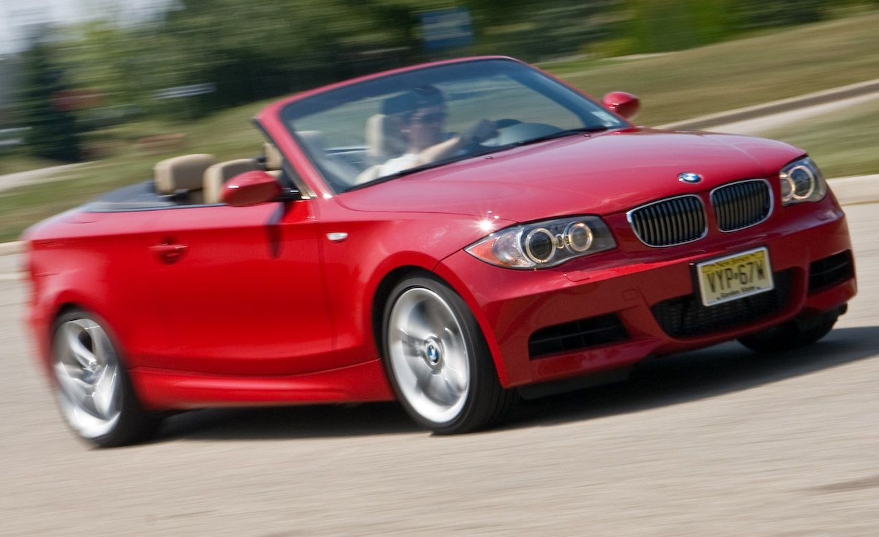 2009 bmw 135i convertible instrumented test car and driver. Black Bedroom Furniture Sets. Home Design Ideas