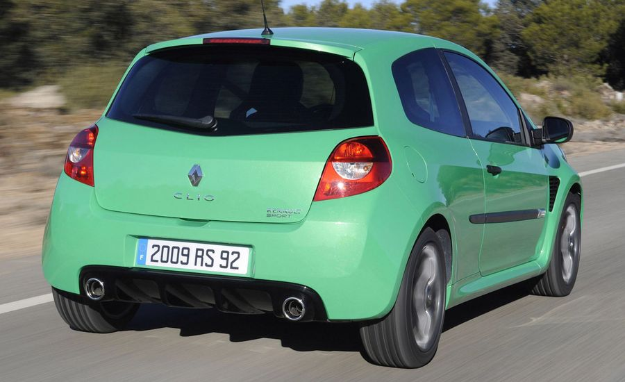 2009 Renault Clio Rs Renault Sport Review Car And Driver