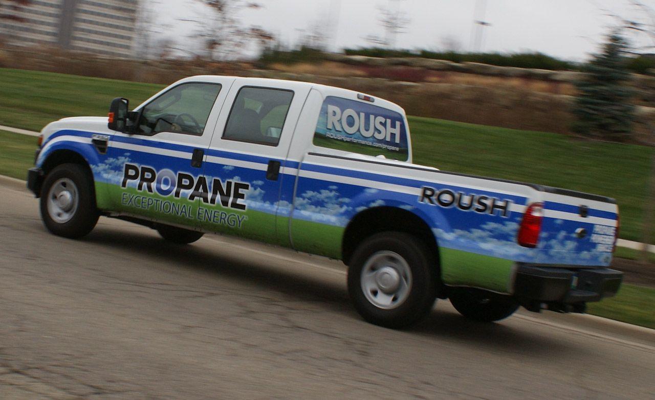 2009 Roush Ford F-250 Super Duty Propane