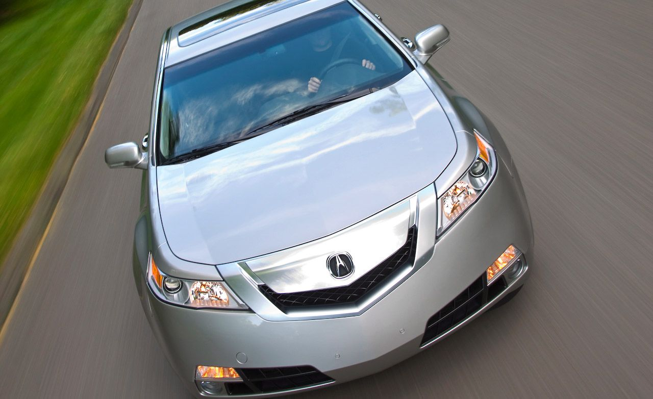 2002 acura tl type s rh caranddriver com Owner Manual 2005 Acura TL S 2006 Acura TL White