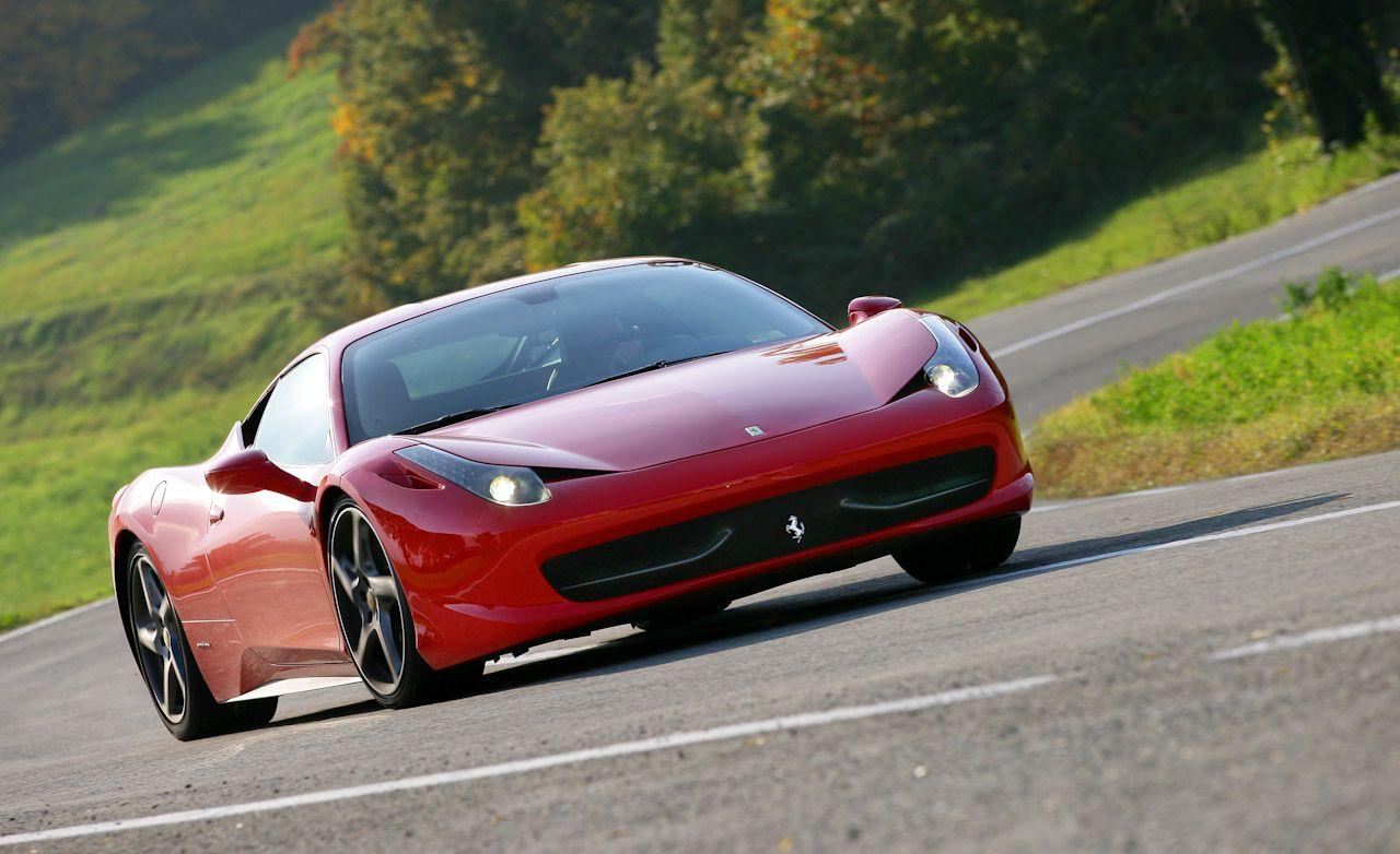 Ferrari 458 curb weight