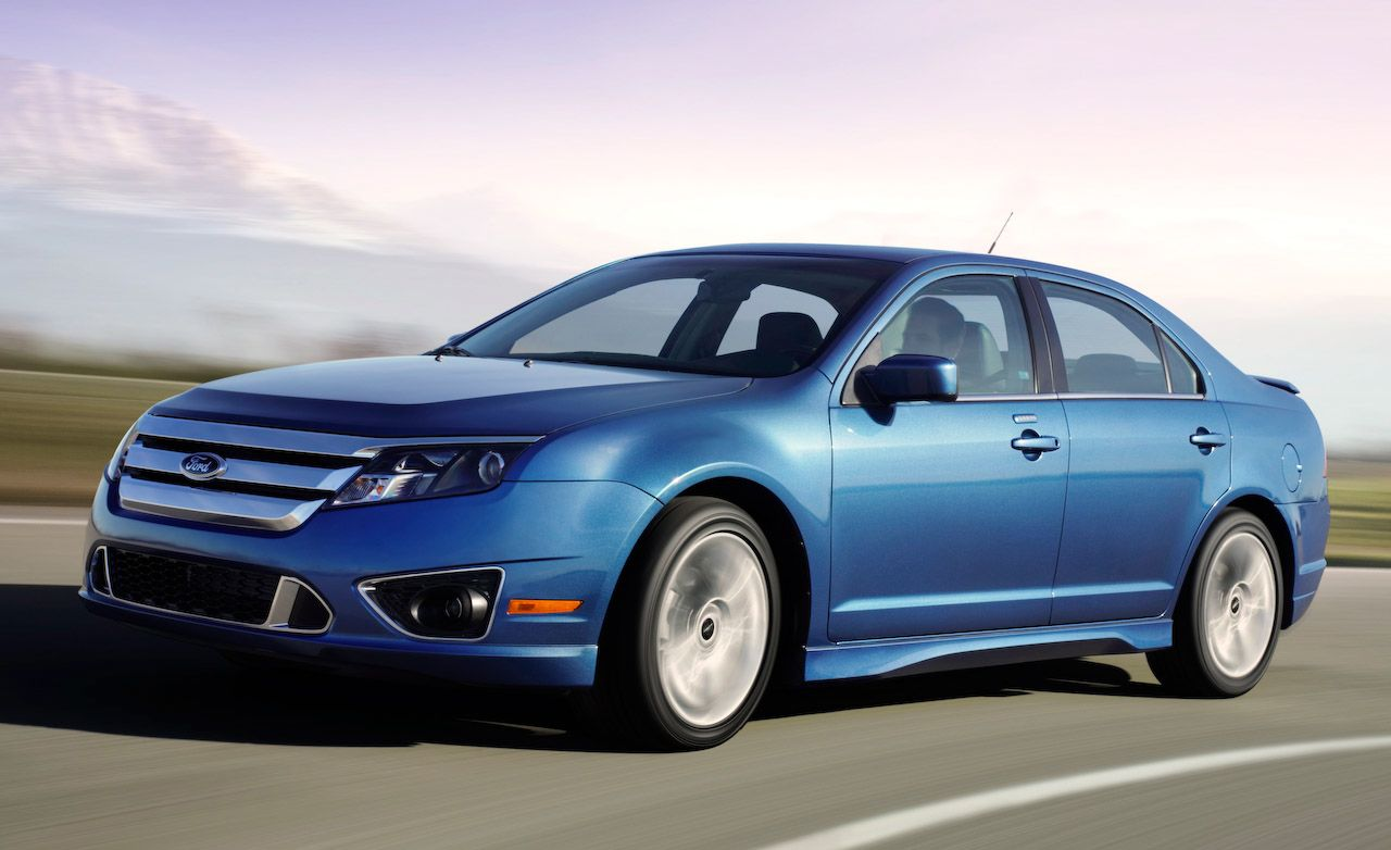 2010 ford fusion sport awd instrumented test car and driver