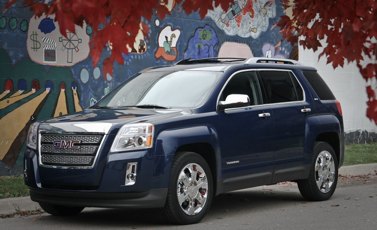 gmc terrain v6 suv cars engine crossover info test road autos automobile trucks driver 3dtuning same