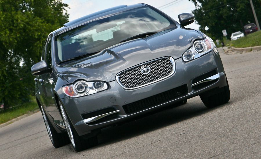 2010 jaguar xf 5 0 premium road test review car and driver. Black Bedroom Furniture Sets. Home Design Ideas