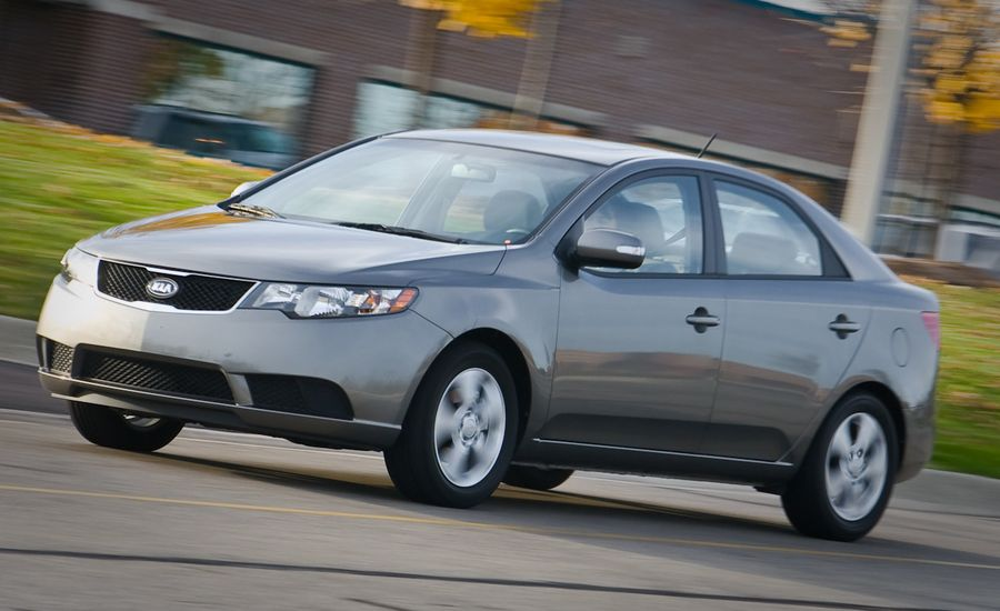 2010 kia forte ex instrumented test car and driver. Black Bedroom Furniture Sets. Home Design Ideas