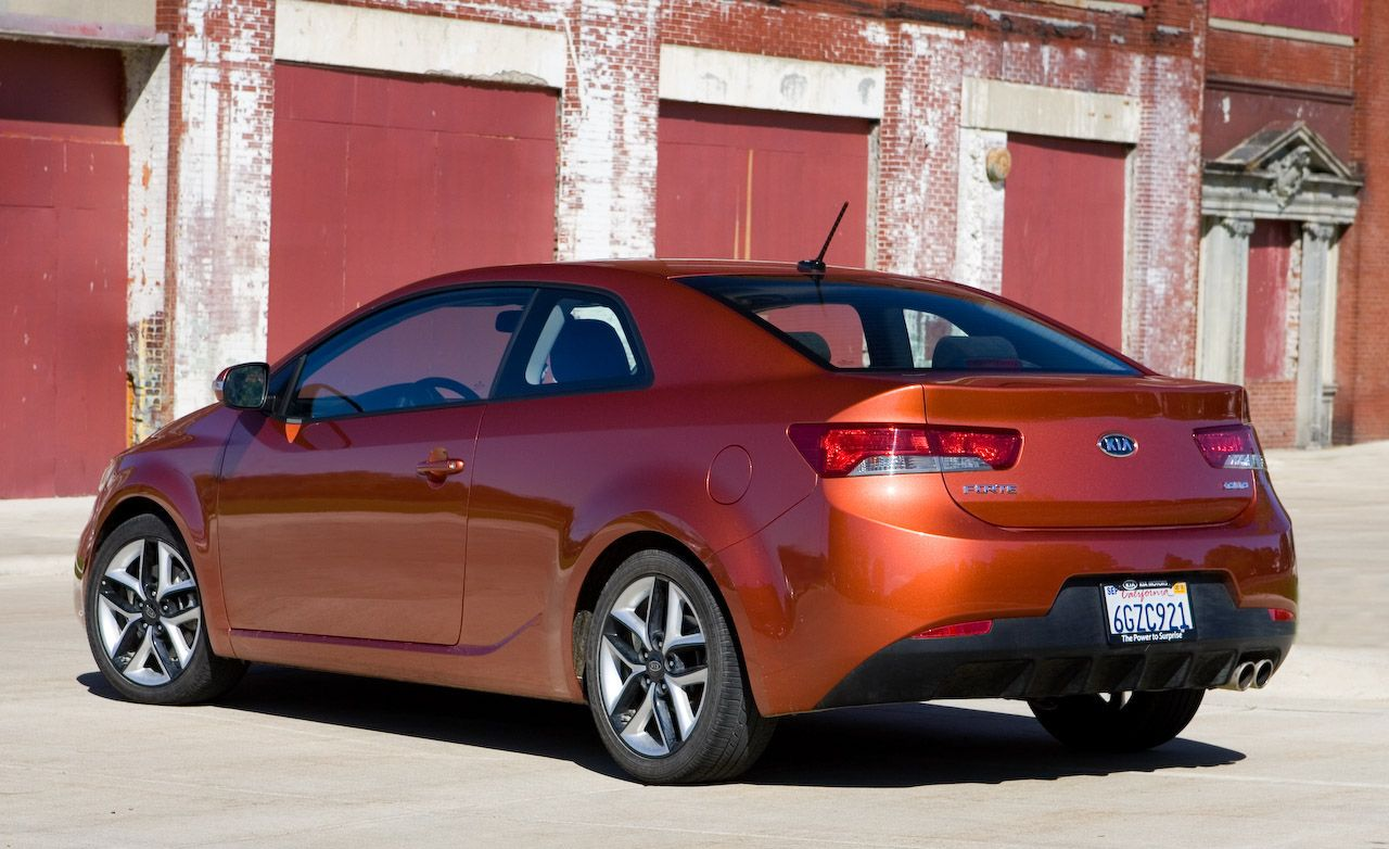 2010 Kia Forte Koup Sx Instrumented Test Car And Driver