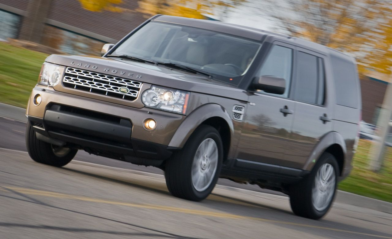2010 land rover lr4 instrumented test car and driver rh caranddriver com 2016 Land Rover LR4 2012 Land Rover LR4