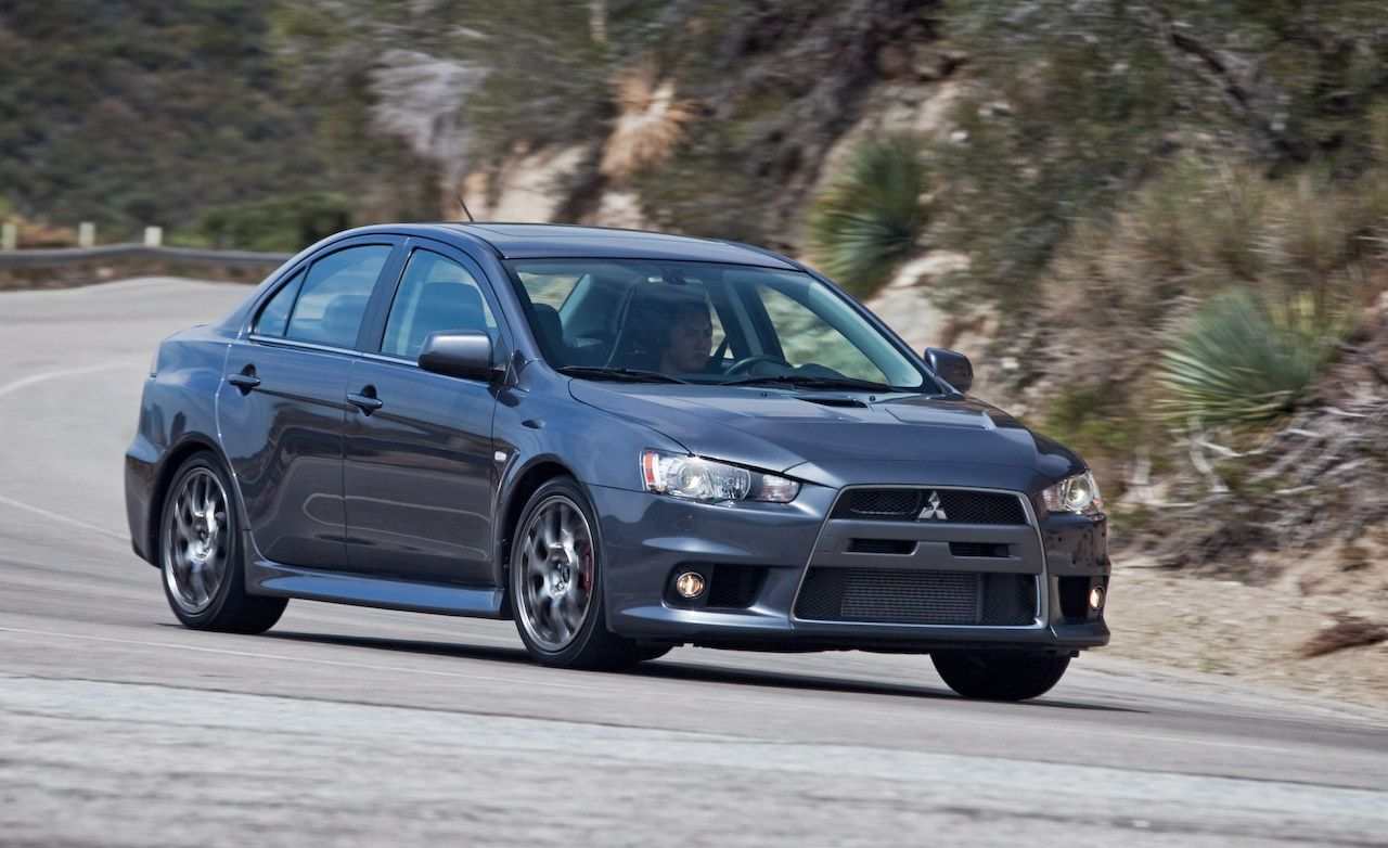 2010 Mitsubishi Lancer Evolution MR Touring Review