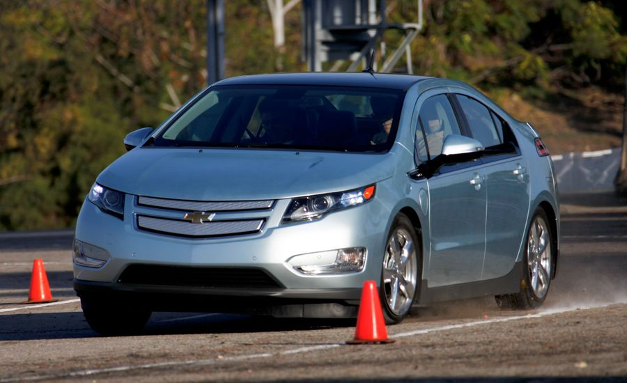 2011 Chevrolet Volt Driven in Range-Extending Mode