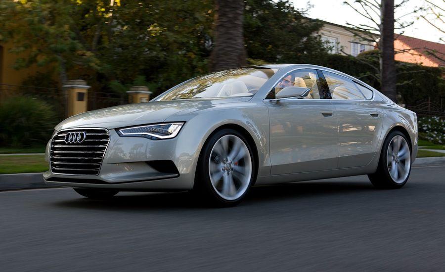 Audi A Sportback Concept Prototype Drive Reviews Car And Driver - Audi car a7