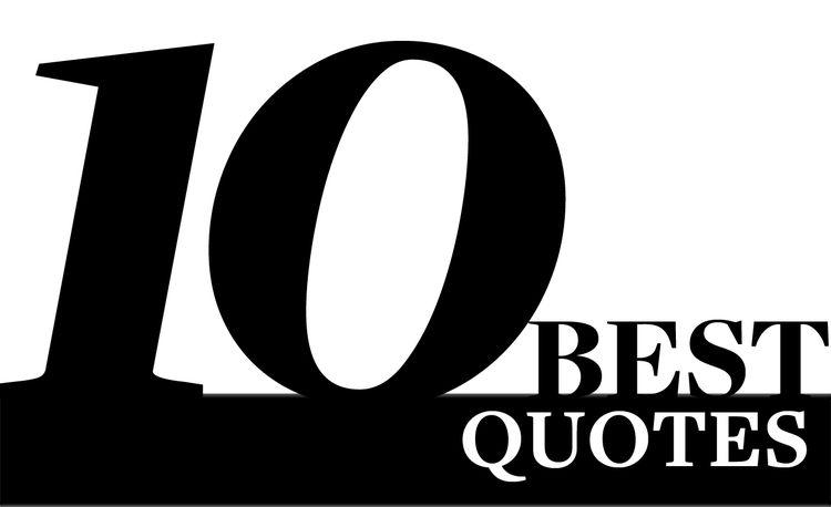 2010 10Best Quotes