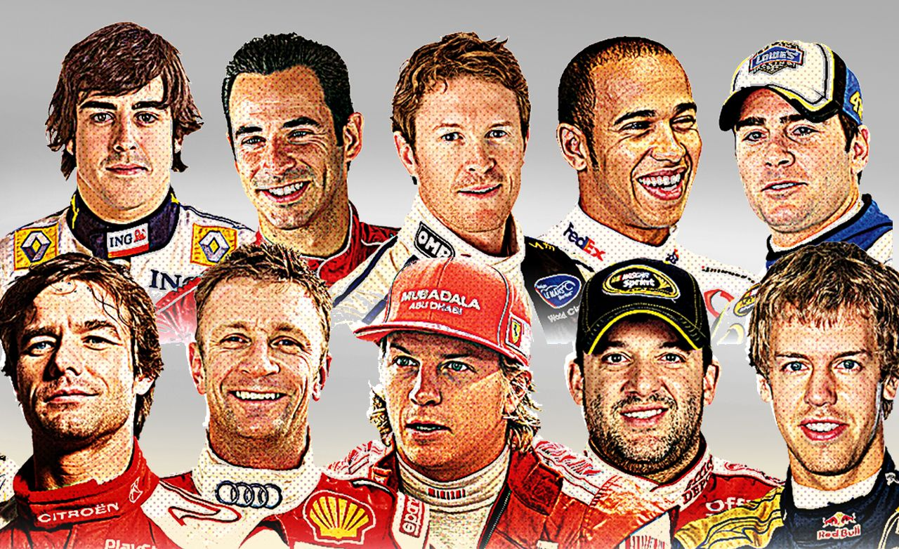 2010 10Best Drivers of the Moment