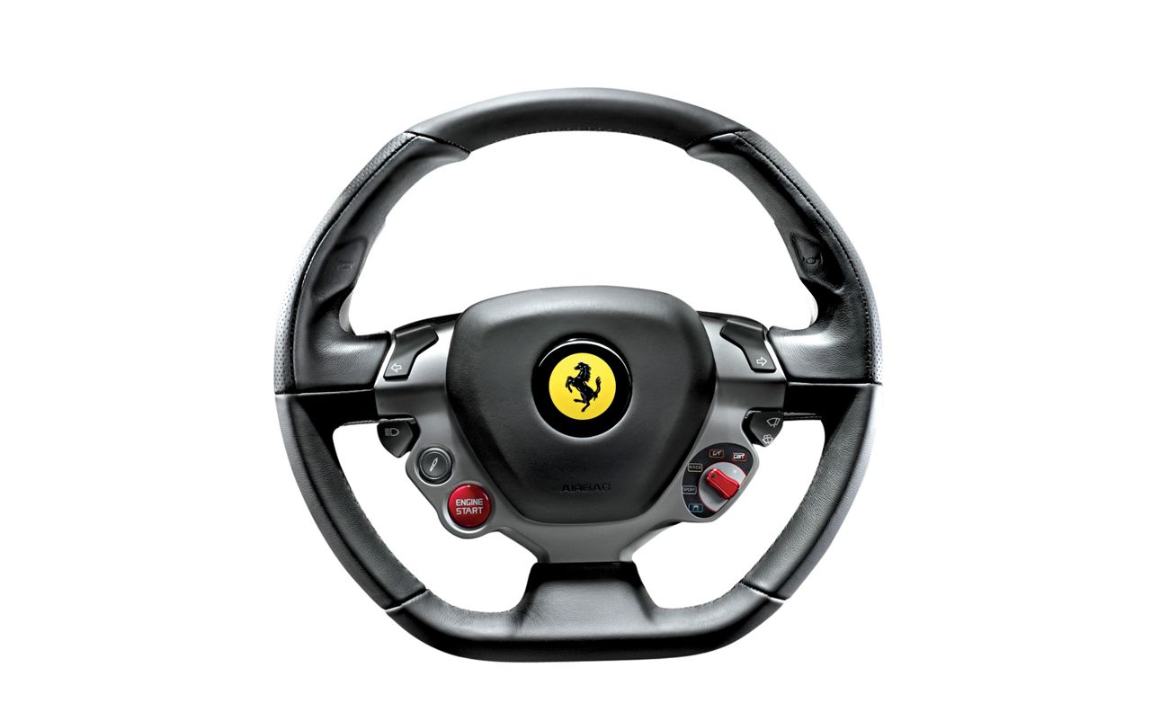 Ferrari 458 reviews ferrari 458 price photos and specs car steering the way 2010 ferrari 458 italia steering wheel vanachro Images