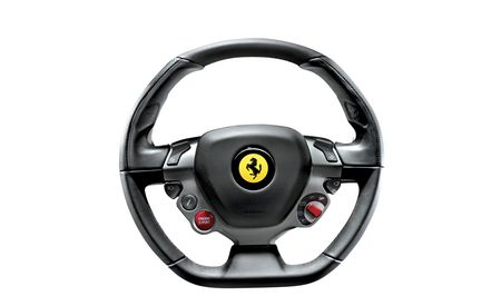 Steering the Way: 2010 Ferrari 458 Italia Steering Wheel