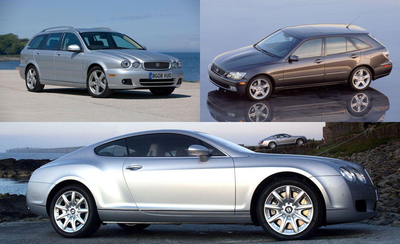 Unintentional Exotics: Jaguar X-type Wagon and Lexus IS300 SportCross