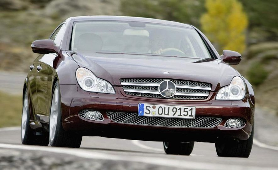 2011 Mercedes-Benz CLS-class (spy photo) - Slide 11