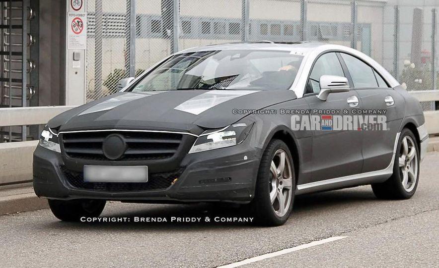 2011 Mercedes-Benz CLS-class (spy photo) - Slide 1