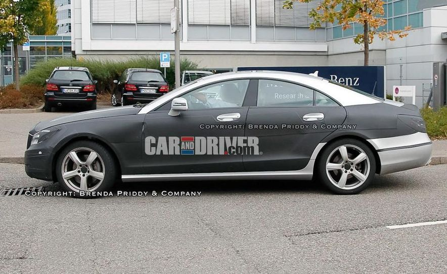 2011 Mercedes-Benz CLS-class (spy photo) - Slide 4