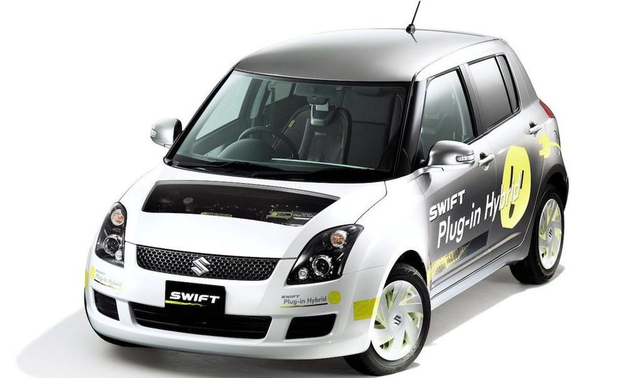 Suzuki Swift plug-in hybrid concept - Slide 1
