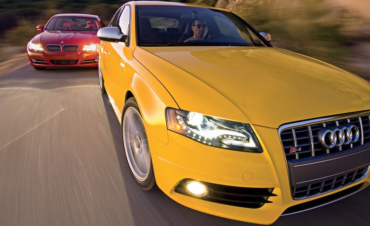 2010 Audi S4 vs. 2009 BMW 335i