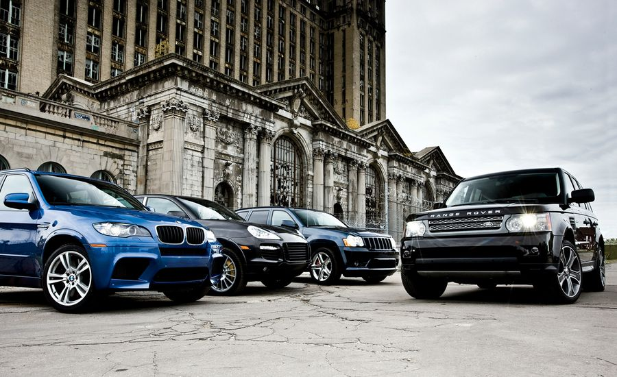 2010 Bmw X5 M Vs 2009 Jeep Grand Cherokee Srt8 2010 Land