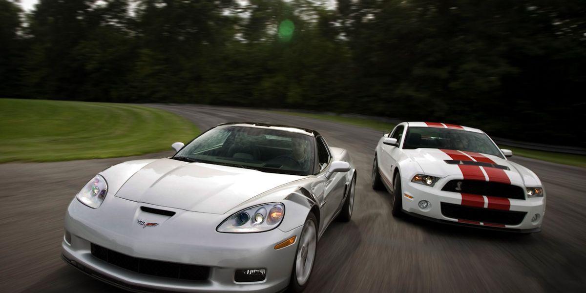 2010 Chevy Corvette Grand Sport Vs 2010 Ford Mustang Shelby Gt500