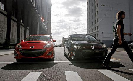 2010 Mazdaspeed 3 vs. 2010 Volkswagen GTI