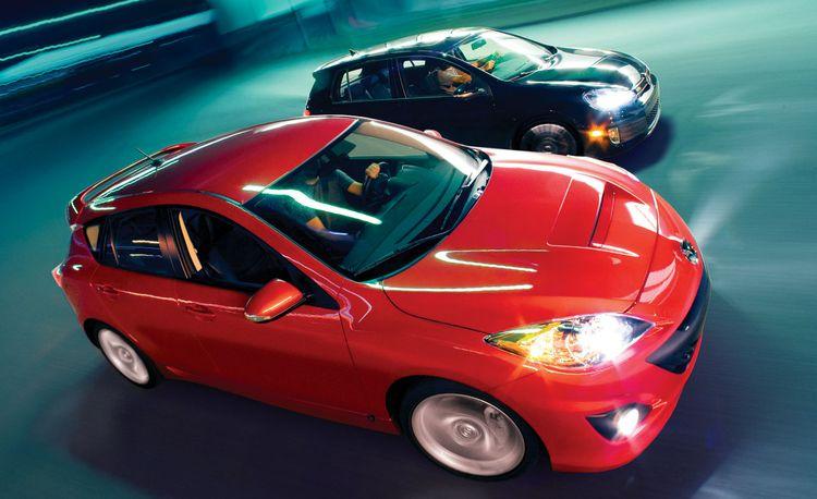 2010 Volkswagen GTI vs. Mazdaspeed 3