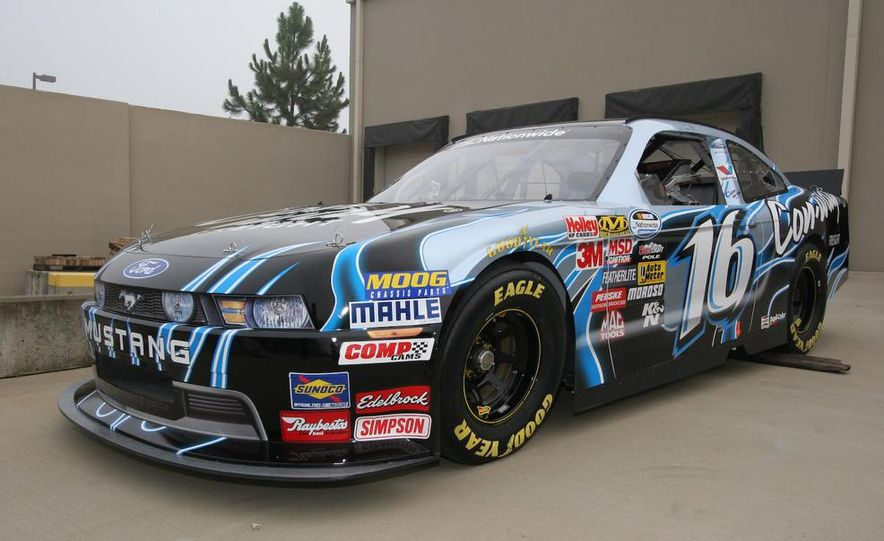 2010 Ford Mustang NASCAR race car - Slide 1