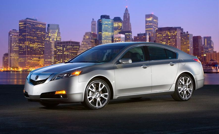 2011 Acura TL SH-AWD - Slide 15