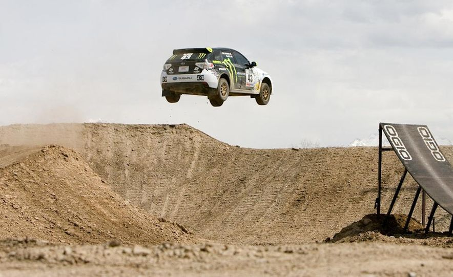 Ken Block Subaru Impreza WRX STI rally car - Slide 1