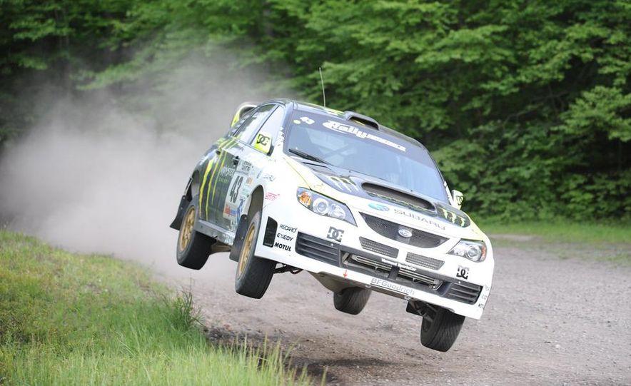Ken Block Subaru Impreza WRX STI rally car - Slide 4