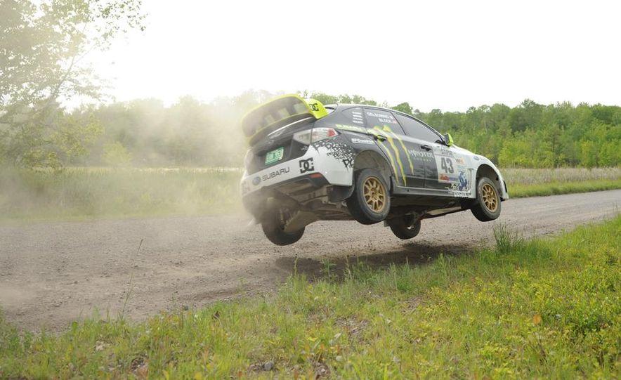 Ken Block Subaru Impreza WRX STI rally car - Slide 5