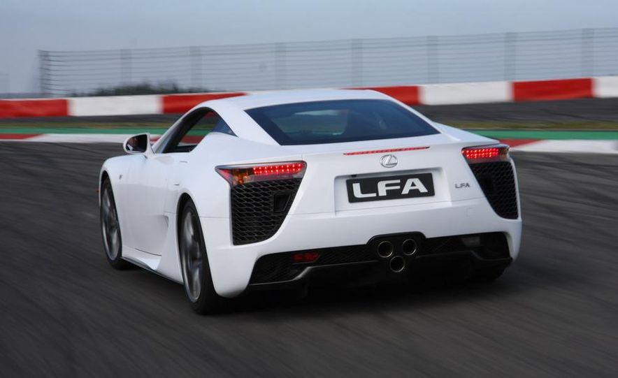 2012 Lexus LFA - Slide 16