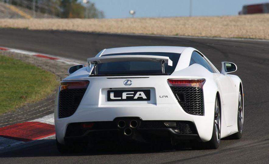 2012 Lexus LFA - Slide 38