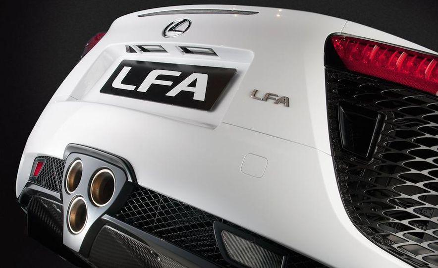 2012 Lexus LFA - Slide 51