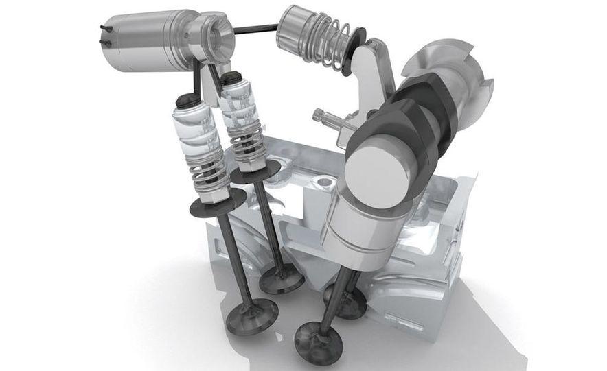 Fiat's 'Multiair' system (artist's rendering) - Slide 1