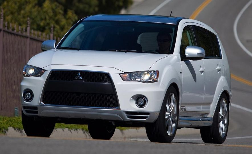 Mitsubishi compact crossover (artist's rendering) - Slide 19