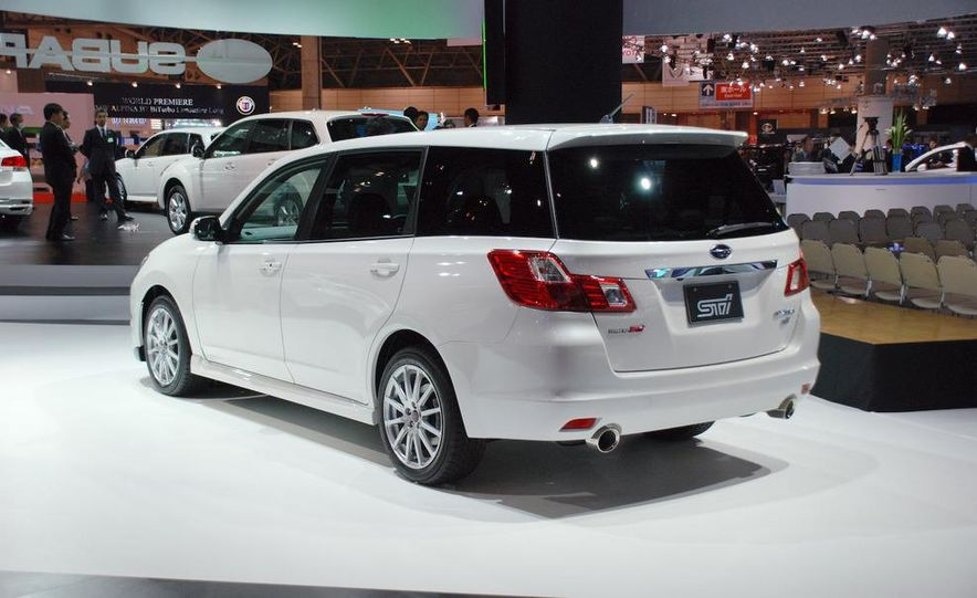 Subaru Exiga 2.0GT Tuned by STI - Slide 1