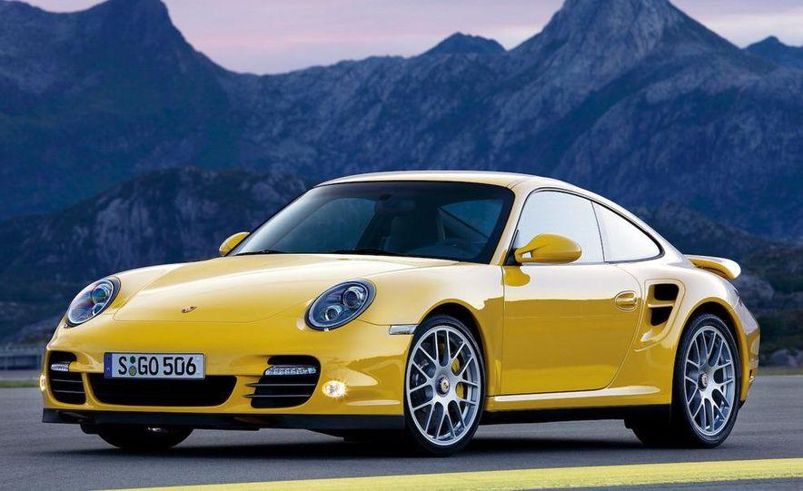 2010 Porsche 911 Turbo coupe - Slide 1