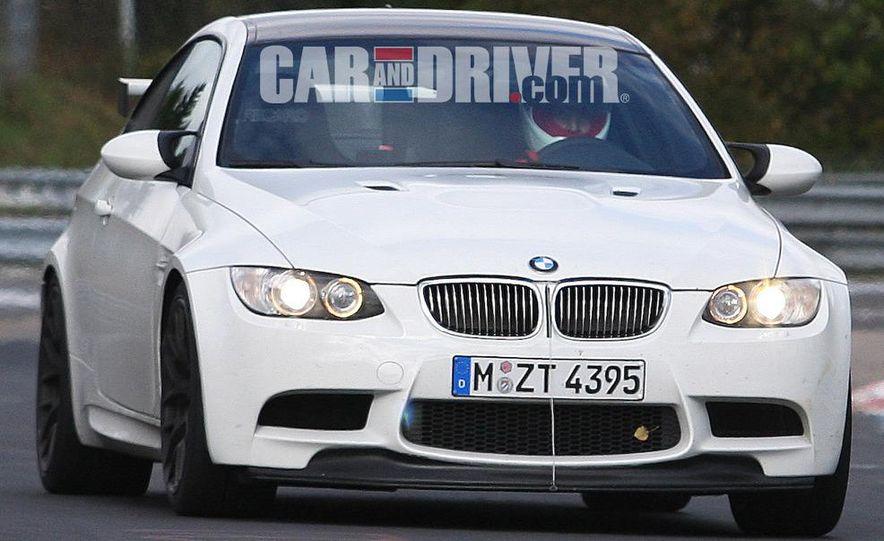 BMW M3 GT4 (spy photo) - Slide 1