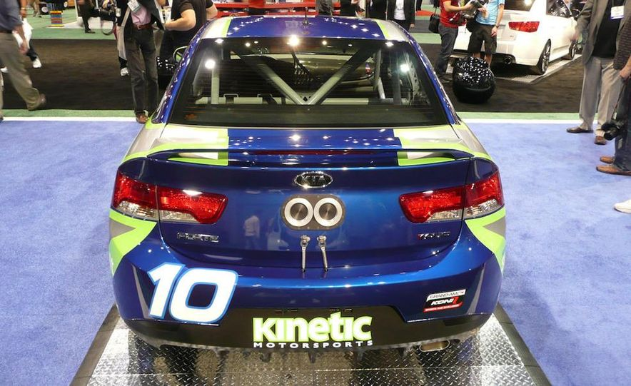 Kia Forte Koup Koni Challenge race car - Slide 3