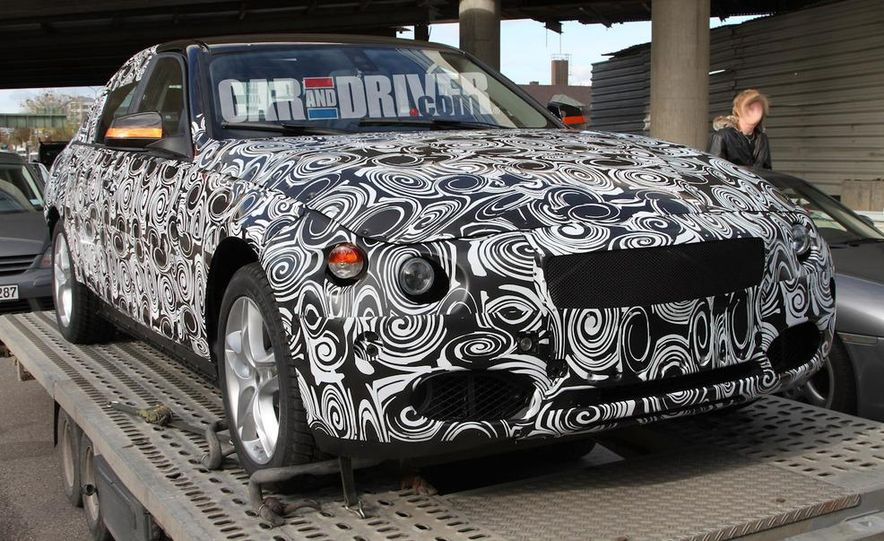 2012 / 2013 BMW 3-series sedan (spy photo) - Slide 2