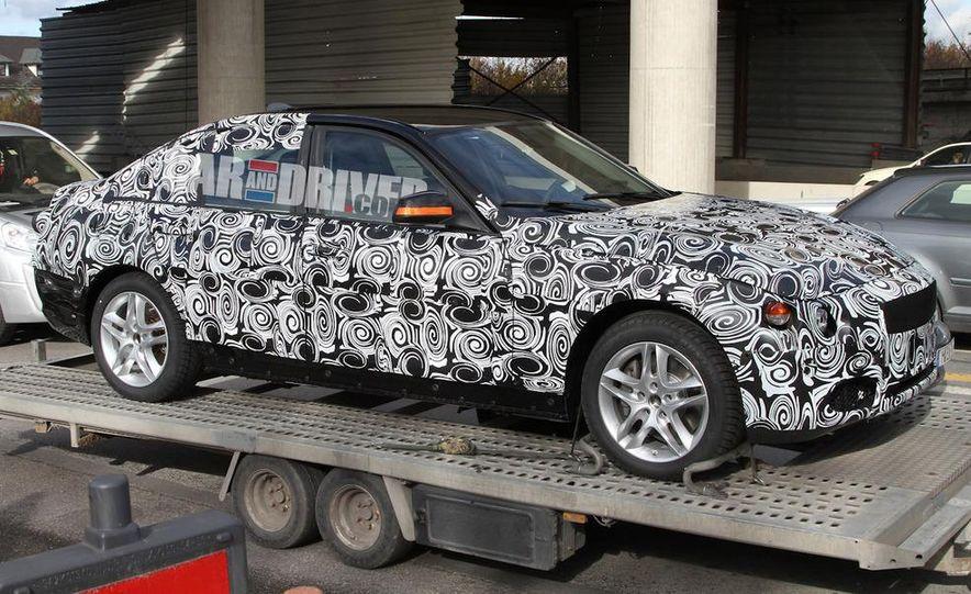2012 / 2013 BMW 3-series sedan (spy photo) - Slide 3