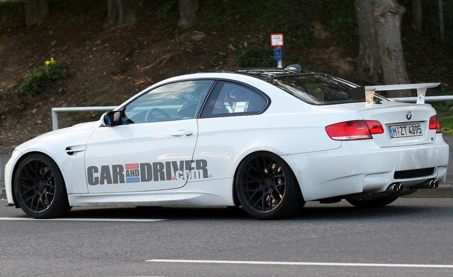 2012 / 2013 BMW 3-series sedan (spy photo) - Slide 13