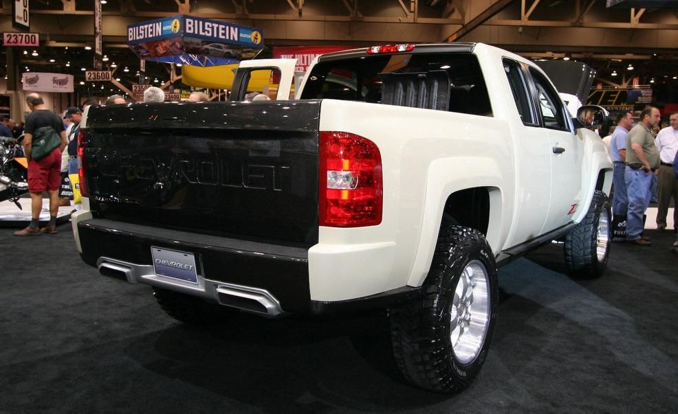 Chevrolet Silverado Zr2 Concept Pictures Photo Gallery Car And
