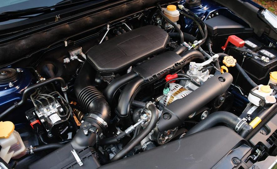 2010 Subaru Legacy 2.5i - Slide 45