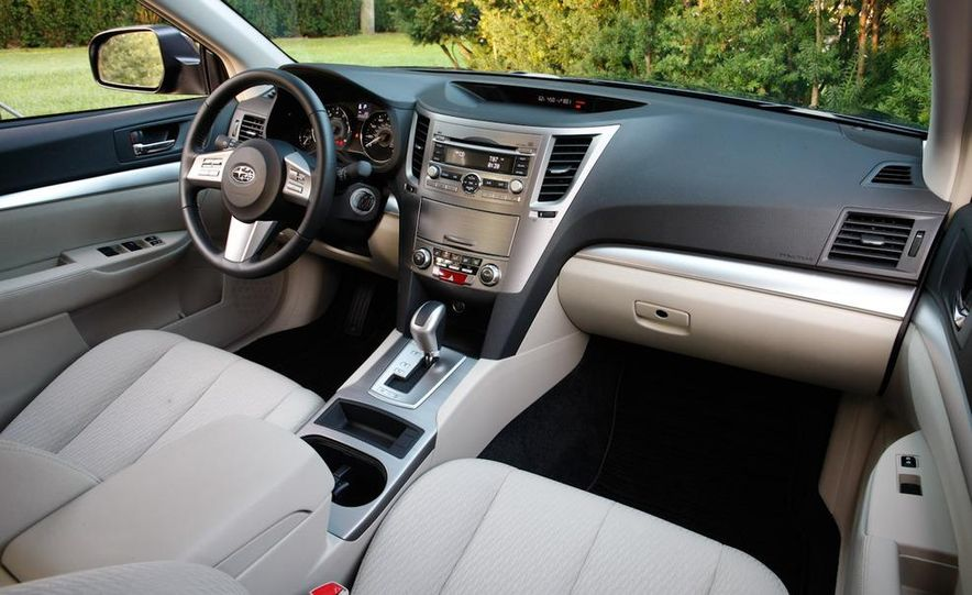 2010 Subaru Legacy 2.5i - Slide 47